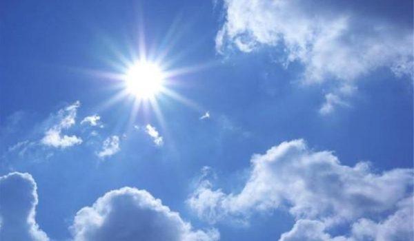 CLIMA: Viernes Soleado y posibles lluvias el fin de semana.
