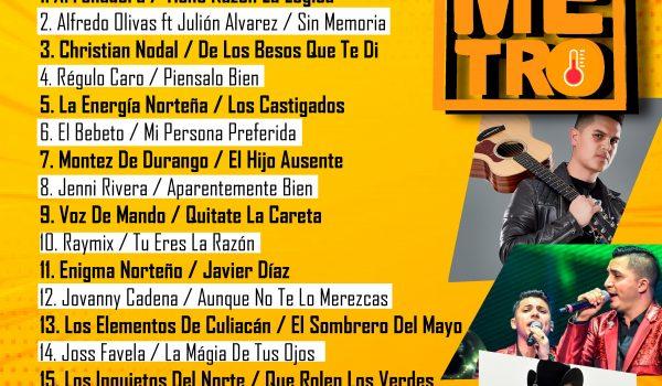 Top 20 22 Julio