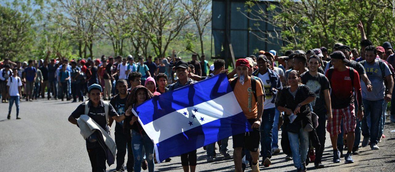 México negará el paso a la caravana hondureña