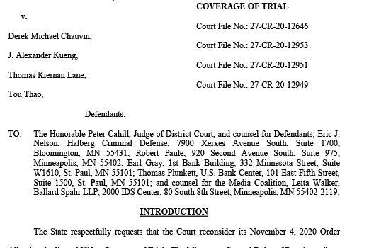 Pide Fiscal Ellison que no se trasmita juicio del caso Floyd