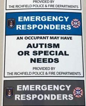 Policía de Richfield pone en marcha programa para auxiliar a personas con necesidades especiales