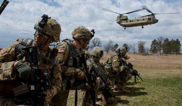 1,100 elementos de la Guardia Nacional de Minnesota al Medio Oriente