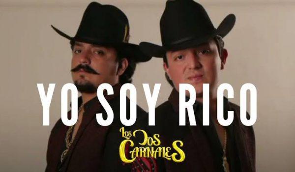 Los Dos Carnales están en el primer lugar de la radio en Estados Unidos con 'Yo Soy Rico'