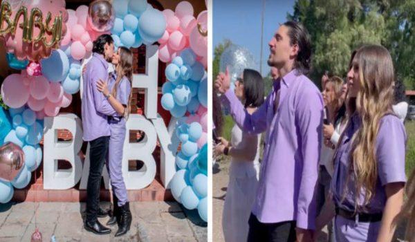 Alex Fernández y Alexia revelan el sexo de su bebé.