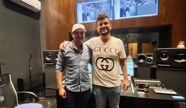 Ulices Chaidez y Edén Muñoz juntos en el estudio. ¿Alistan dueto?